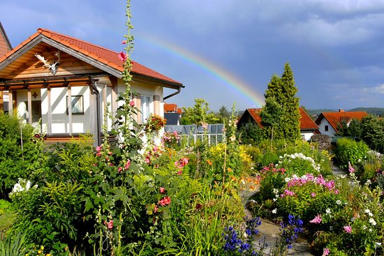 Konnersreuth, ألمانيا: Gartenhaus im Resl-Garten