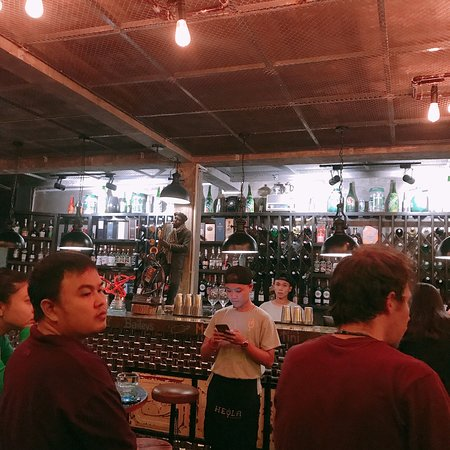 Great bar with cheap cocktails in Da Lat. Acoustic show on every Sunday night. Cozy and little bar but really cute, you guys may like it!