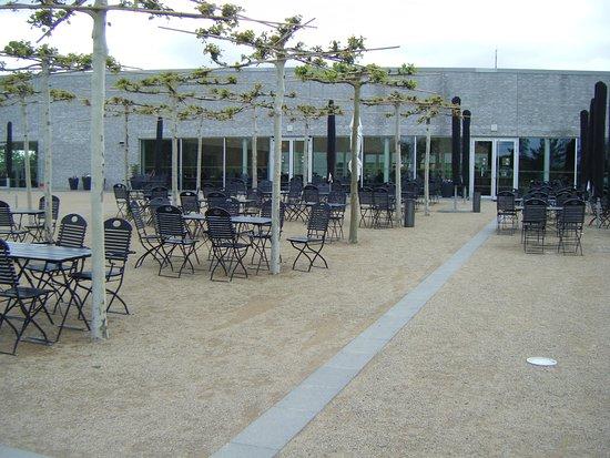 Gärten der Welt: aussenbereich vom restaurant
