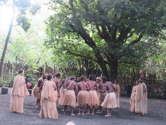 Mount Yasur: 歓迎のダンスがある