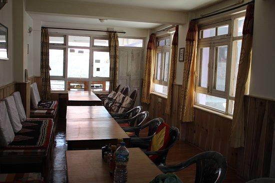 Thulo Syabru, เนปาล: Dining hall