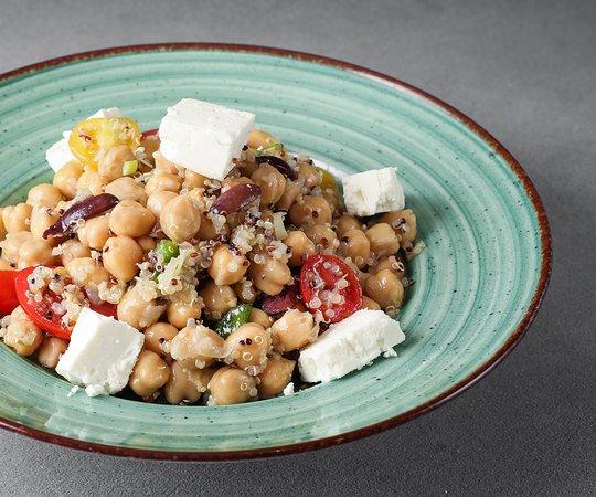 Yoleni's Greek Gastronomy Center: Chickpeas salad