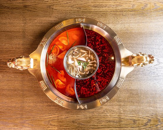 HOTPOT HEROES: Tomato, Mushroom and Sichuan Broth