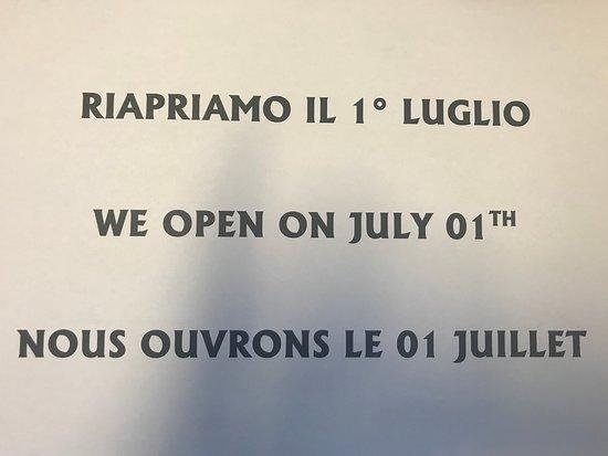 Saint-Rhemy-en-Bosses, Italia: Ora siamo chiusi