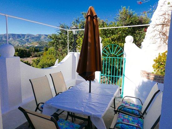 Balcony - Picture of La Casa Turquesa, Frigiliana - Tripadvisor