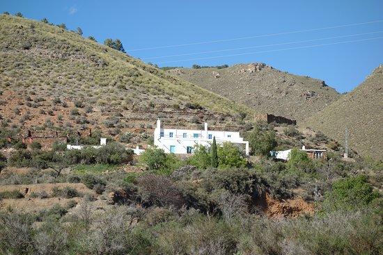 Gergal, สเปน: Casa mini vue du bas du chemin !