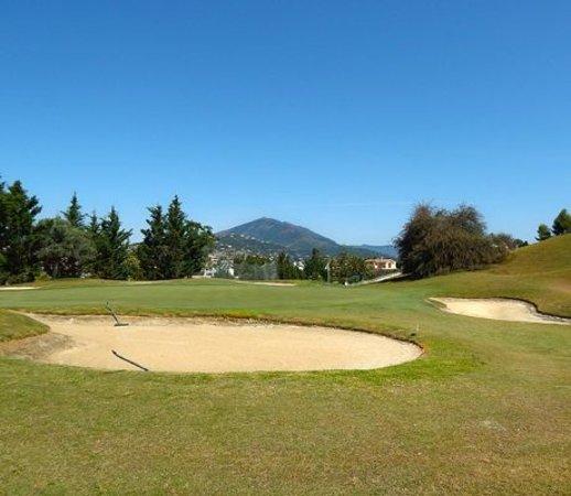 Magna Golf Course: Green 4