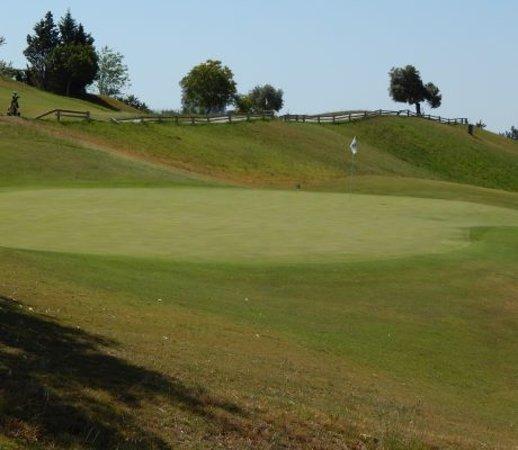 Magna Golf Course: Green 5