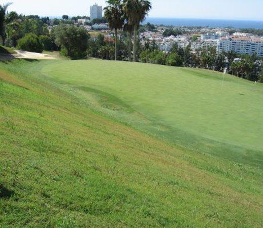 Magna Golf Course: Green 7