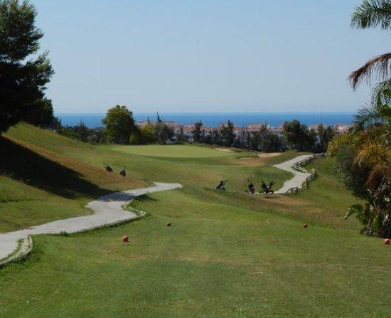 Magna Golf Course: Green 6