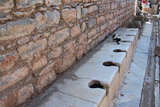 """Один из """"хитов"""" Эфеса - древний туалет"""