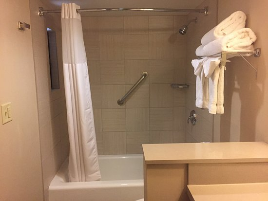 Clean, Well-appointed bathrooms