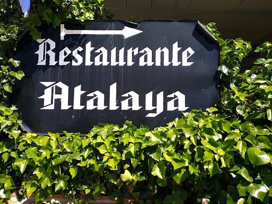 Hotel Restaurante Atalaya: ..