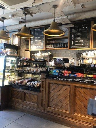 Caffe Nero Edinburgh 145 Princes St Menu Prices