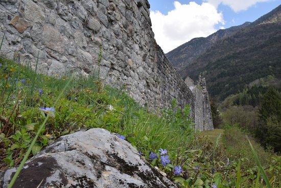 Pieve di Bono, Italie : castello