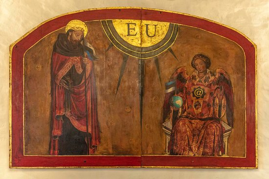 St. Patrick's: Ancient wall painting ;-)