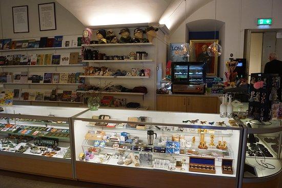 Karlsborg, Швеция: Museets affär
