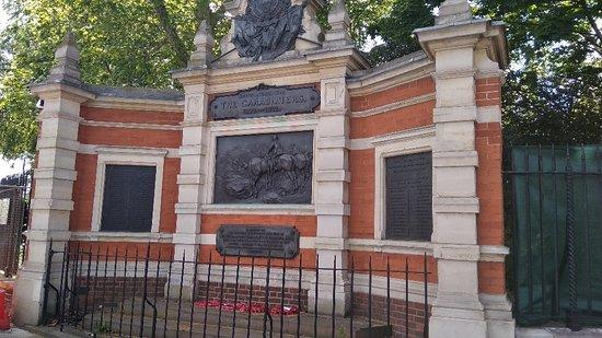 The Carabiniers Memorial