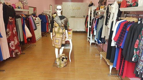 Kassa, Szlovákia: Obchod s dámskym oblečením a doplnkami