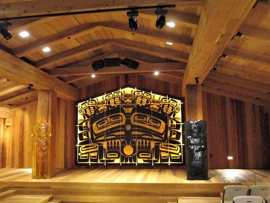 Sealaska Heritage - Walter Soboleff Building: clan house inside Sealaska Heritage