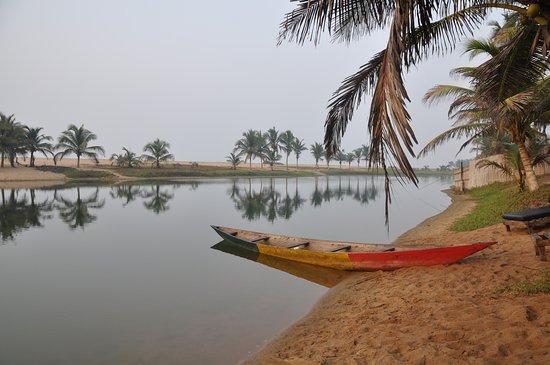 Dzita, Ghana: Love the lagoon at MMT