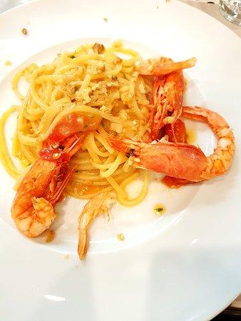 Un PIZZICO di: Spaghetto con Gamberi di Mazzara del Vallo!