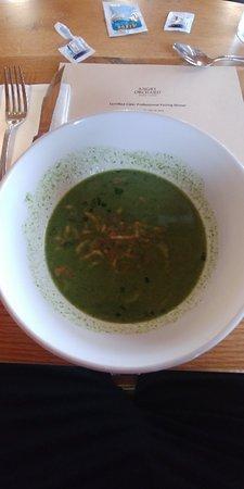 Walden, NY: Asparagus & Nettle Soup...Amazing!