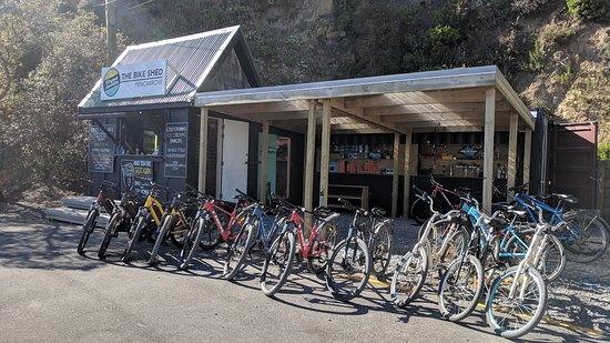 The Bike Shed - Pencarrow