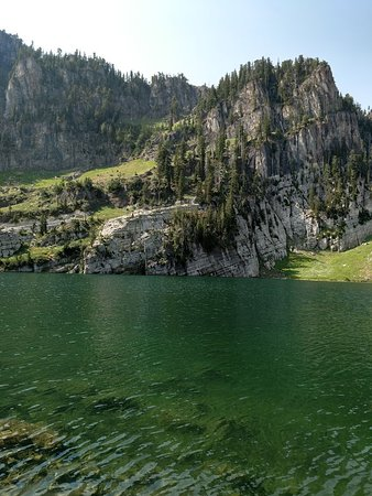 Waffle Den and Bakery: Bloomington Lake. This easy hike is less than 2 miles, but the lake is beautiful and relaxing.  Bloomington is about 10 miles north of Garden City, Utah. Enjoy the area!