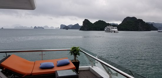 Stellar Of The Seas Cruise: View from terrace