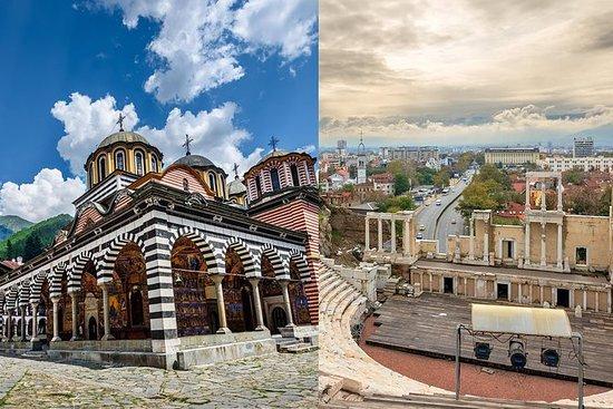 Monasterio de Rila y Plovdiv en un...