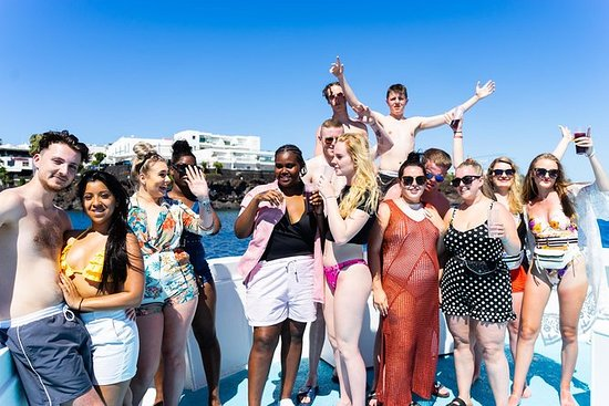 All Inclusive Party Boat mit ...