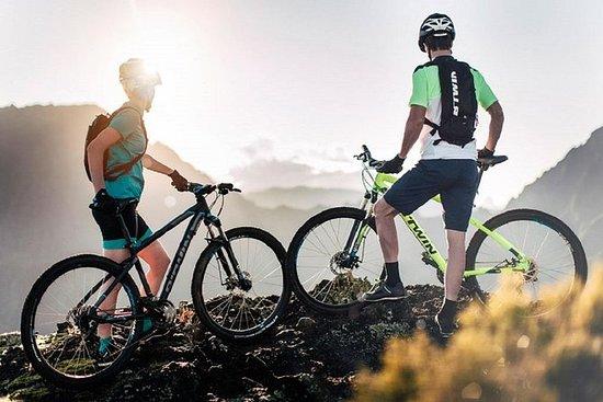 Tour panoramique de montagne en vélo...
