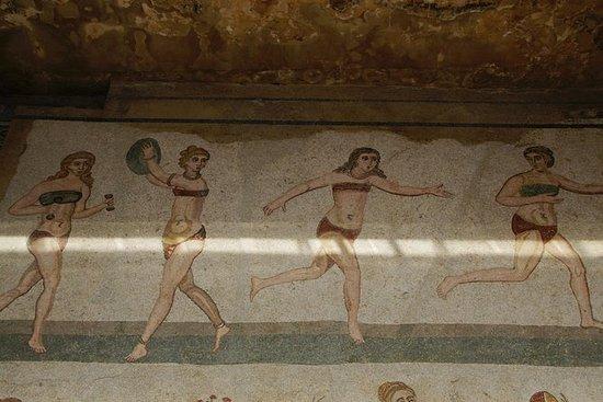 Visita guiada a la villa romana de...