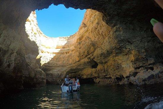 Benagil - Utforsk huler og ville...