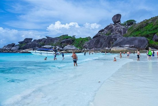 Similan Islands Full-Day Trip from...