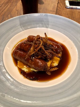 Sausage and mash main