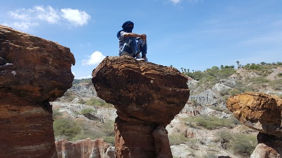 Sabu Island, Indonesië: climb-balancing