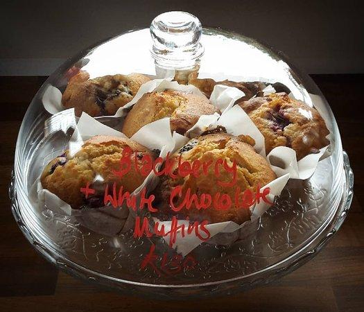 Ebford, UK: Homemade Muffins