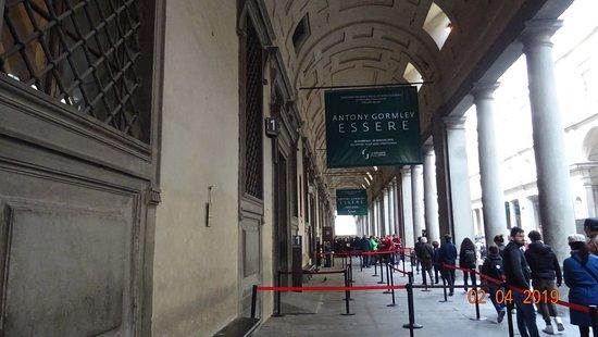 Firenze. Galleria degli Uffizi (Aprile 2019)