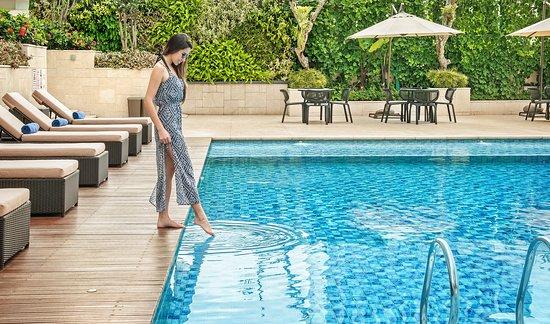 Crowne Plaza Bandung: Pool