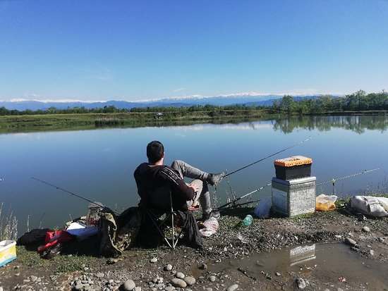 Abasha, จอร์เจีย: Озеро Ногела. Абаша