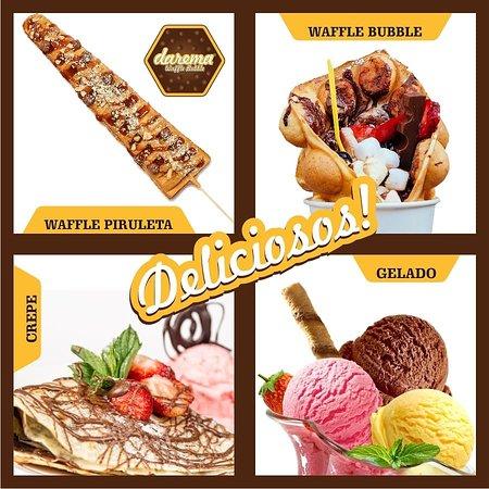 - Waffle Bubble - Waffle Piruleta - Crepes - Gelados Carte D'Or