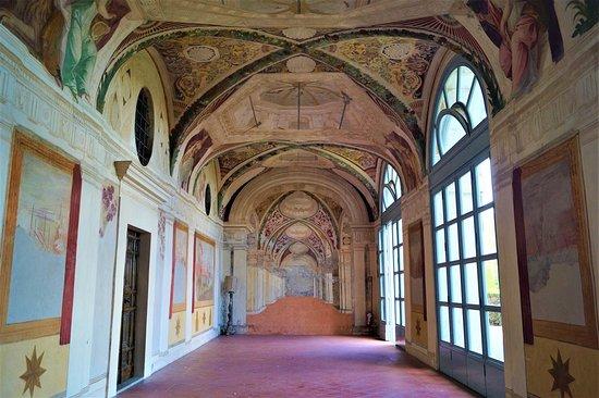 Villa Lante: Sala.