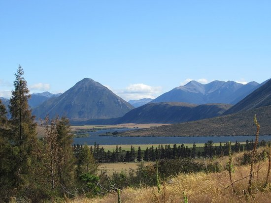 Cass, New Zealand: View from the Knoll