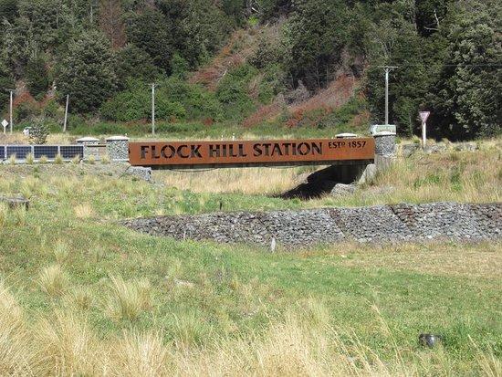Cass, New Zealand: Entrance