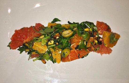 Trattoria A Mano: The citrus salad was wonderful!