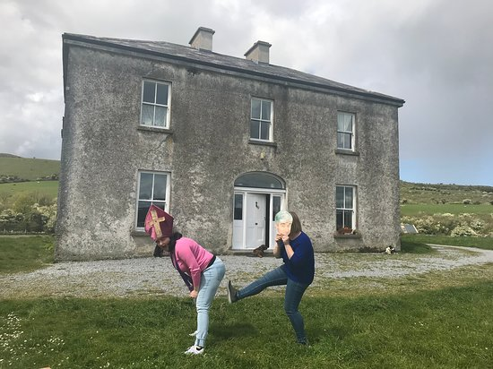 Craggy Island - Picture of Father Ted's House, Burren