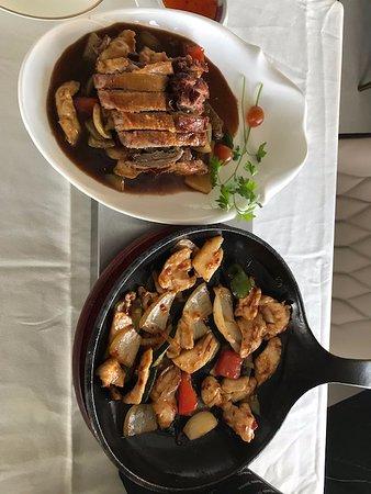 Hong Kong de Marbella: Anka och kyckling