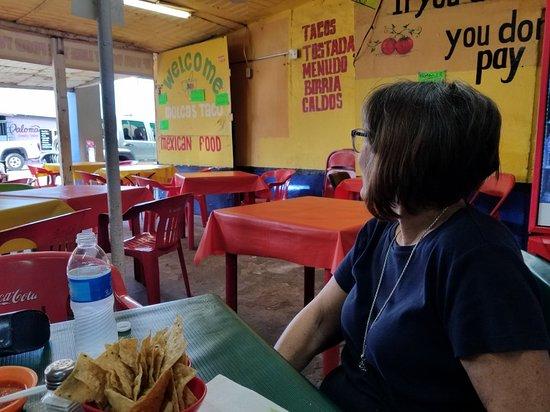 Los Algodones/Vicente Guerrero, México: Tacos Molcas